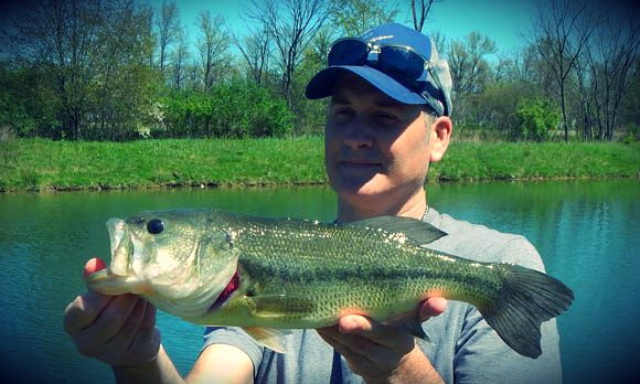 Pond fishing success for Bass fishing ponds