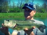Pond fishing success