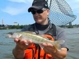 Cleveland shoreline fishing, from thekayak