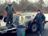 Cleveland Metroparks Winter Trout Stocking 2019